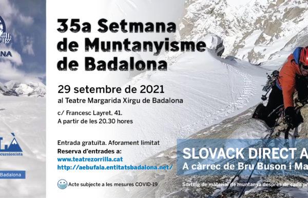 Banner 35a Setmana de Muntanyisme 2021