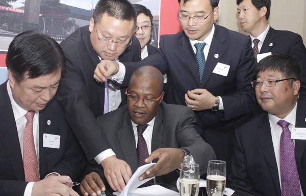 HTSAC_still01 Brian Molefe signing locomotive deal in China
