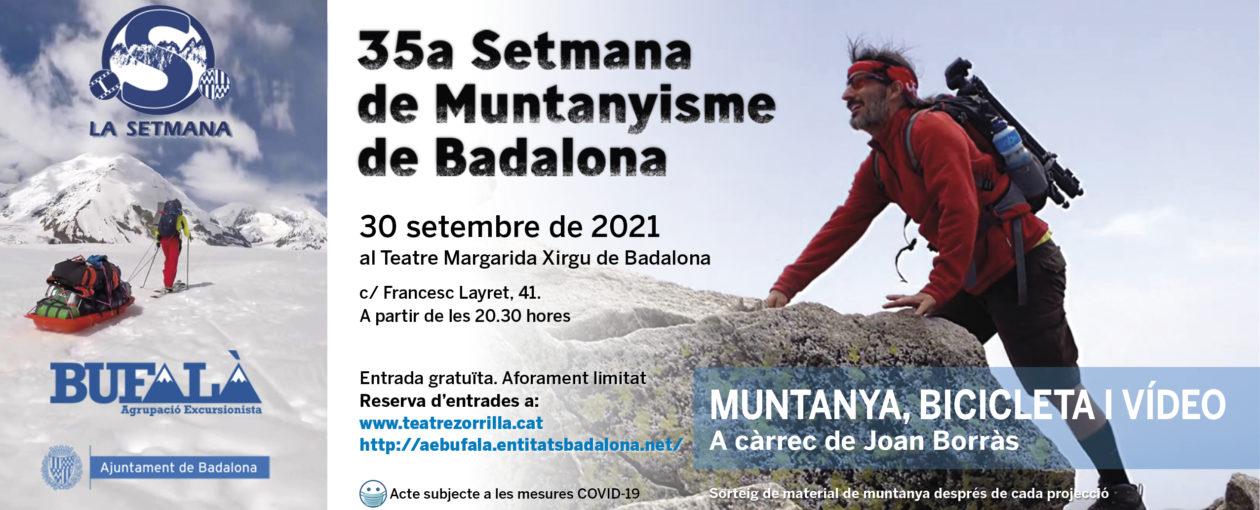banner 30 SETEMBRE setmana de muntanyisme 2021